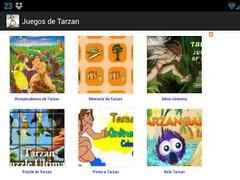 Tarzan games 1.0 Screenshot