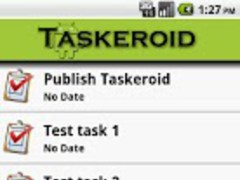 Taskeroid Beta 1.0 Screenshot