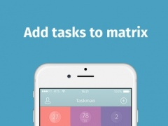 Taskman - easy task planning by Eisenhower matrix 1.0 Screenshot