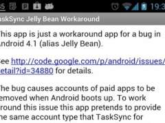 TaskSync JB Workaround 1.0 Screenshot
