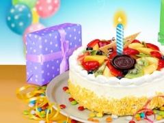 Tasty! Birthday Cake Food Maker! 1.0 Screenshot