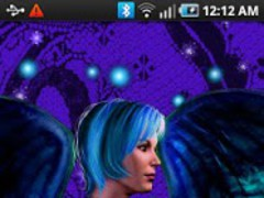 Tattooed Angel Live Wallpaper 1.0 Screenshot