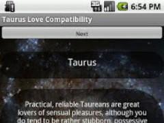 Taurus Love Compatibiity 1.21 Screenshot