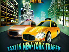 Taxi in New-York Traffic Game 1.0 Screenshot