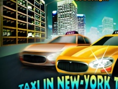 Taxi In New-York Traffic - The cool cab game gold edition ! 2.0 Screenshot