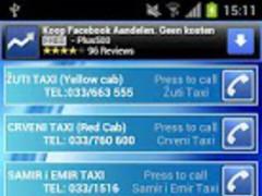 TAXIs SARAJEVO BiH 1.0 Screenshot
