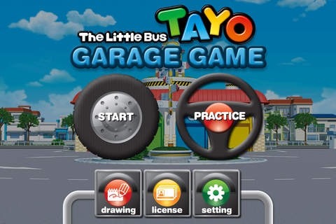 Tayo The Little Bus S Garage Game 1 7 Free Download