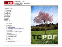 TCPDF - PHP class for PDF  Screenshot