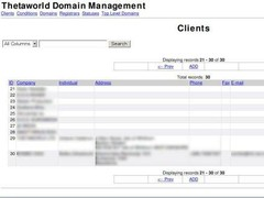 TDomain Manager - Domain Management 1.0 Screenshot