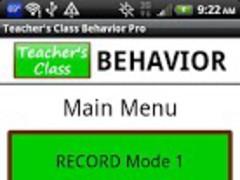 Teacher's Class BEHAVIOR PRO 3.0 Screenshot