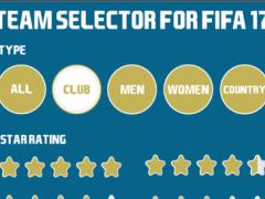 Team Selector for FIFA 17 1 Screenshot