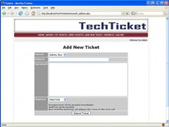 Tech Tickets 1.0 Screenshot
