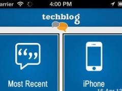 TechBlog 1.0 Screenshot