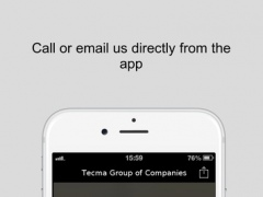 Tecma Group of Companies 1.2 Screenshot