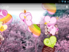 Romantic hearts live wallpaper 1.1.4 Screenshot
