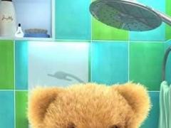 Teddy Bear Bathe -Talking Bear 1.12 Screenshot