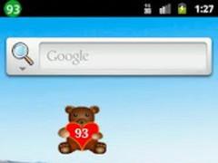 Teddy Bear Battery Widget 4.1 Screenshot