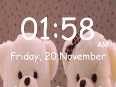 Teddy Bear Pattern Lock Screen 1.0 Screenshot
