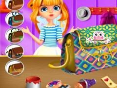 Teen Girl Bag Decor - Fashion Design/Beauty Dream DIY 1.0.0 Screenshot