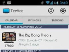 TeeVee Shows Guide 2.2.0 Screenshot