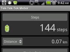 Tek-Tek-Tek Meter 1.1.1 Screenshot