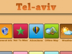 TelAviv Offline Map Travel Guide 6.0 Screenshot