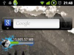 Telecom NZ Broadband Widget 1.2 Screenshot