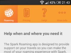 Spark NZ Roaming 15.0.10 Screenshot