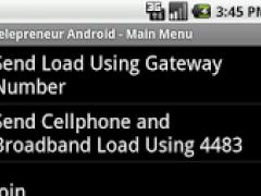 Telepreneur Android 1.7 Screenshot
