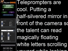 Teleprompter Software 1.1.10 Screenshot