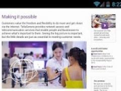 TeliaSonera Publications 2.0 Screenshot
