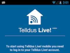 Telldus Live! mobile  Screenshot