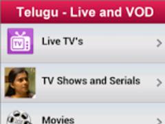 Telugu - Live and VOD 1.0 Screenshot