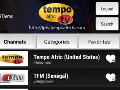 Tempo Afric TV 1.0 Screenshot