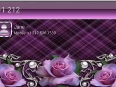 Tender Roses EXDialer Theme 1.0 Screenshot