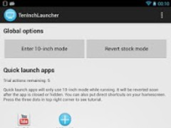 TenInchLauncher 1.5 Screenshot
