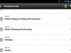 Tennessee Statutes Laws CODE 1.4 Screenshot
