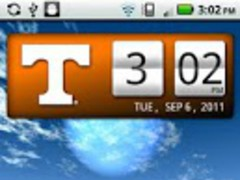 Tennessee Vols Clock Widget 2.0.2 Screenshot