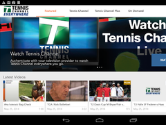 Tennis Channel 6.0052.0 Screenshot
