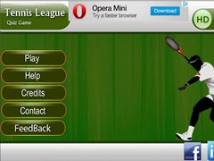 TENNIS LEAGUE HD FOR TAB 1.3 Screenshot