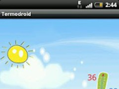 Termodroid-mobile thermometer  Screenshot