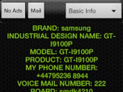 Test Phone Info 1.1.1 Screenshot