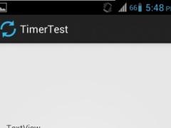Test Timer App 1.0 Screenshot