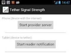Tether Signal Strength 1.1 Screenshot