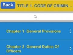 Texas Criminal Code 2016 - TX Law 1.1 Screenshot