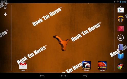 Texas Longhorns Live Wallpaper 4.2 Free