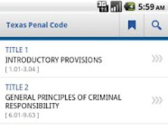 Texas Penal Code 2.0 Screenshot