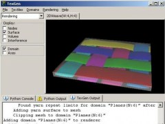 TexGen 3.4.0 Screenshot