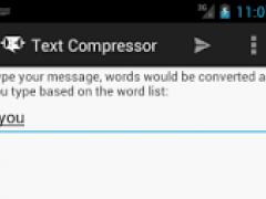 Text Compressor  Screenshot
