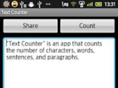 Text Counter  Screenshot